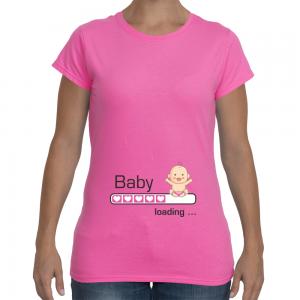 baby loading... con rosa